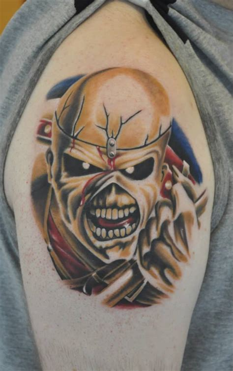 iron maiden eddie tattoo designs my trooper eddie iron maiden eddie tattoos