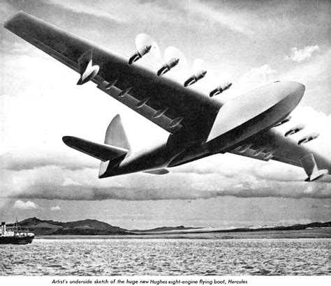 flying boat hughes aircraft litot spruce goose index