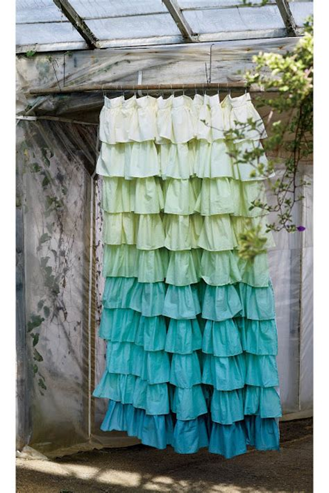 Best Bathroom Curtains Inspiration M Dorsey Designs Anthropologie Inspired Ruffled Draperies Master Bedroom Update