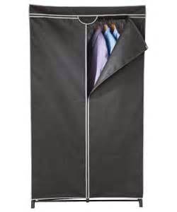 buy single fabric wardrobe black at argos co uk your