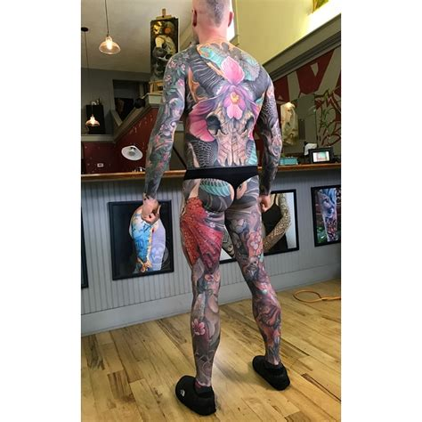 tattoo body suit suit