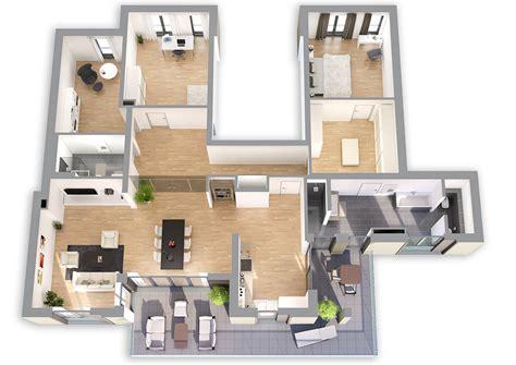 wohnung grundriss 3d architekturvisualisierung und industrievisualisierung 3d