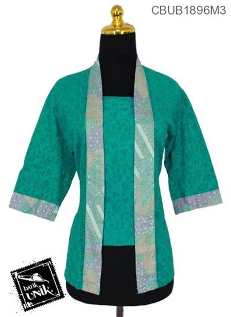 Blus Kembang Murah blus tanggung kutu baru motif kembang ceplok blus tanggung murah batikunik