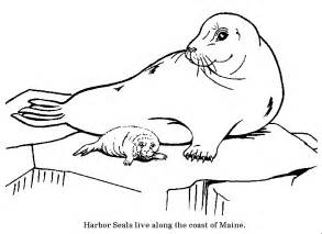 seal coloring pages coloring pages just click the one you want print it