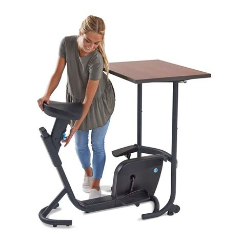 stationary bicycle desk desk bike peddler