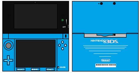ds blue nintendofans papercraft  photo