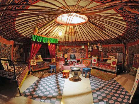 Yurt Photos Interior Mongolian Interior Design R Incarnation