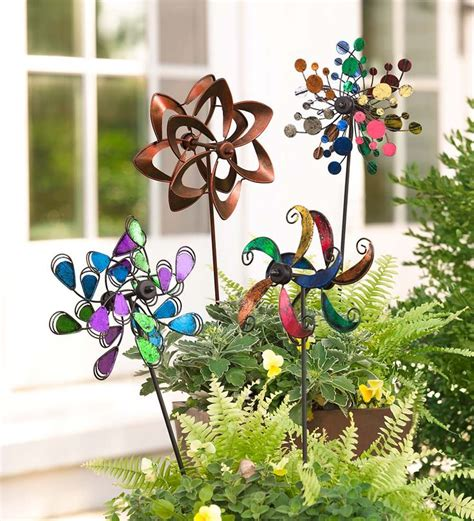 Garden Decor Wind Spinners 86 Best Yard Decor Images On Pinterest