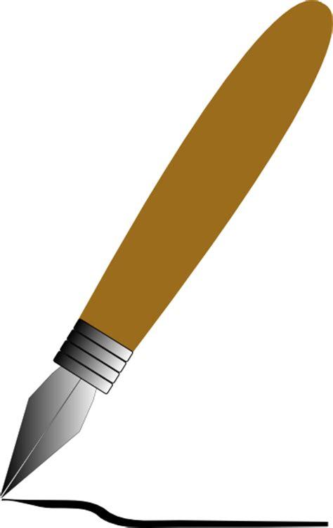 pen clipart earxagangnad clip writing pen