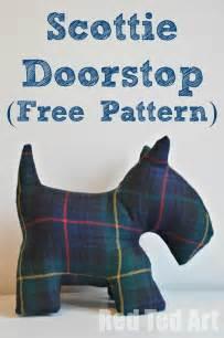 scottie door stop amp free dog patterns