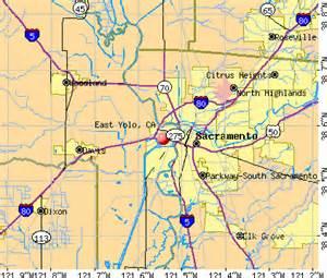 yolo county california map east yolo california ca 95691 profile population maps