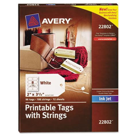 printable tags with strings avery 22802 printable tags with strings