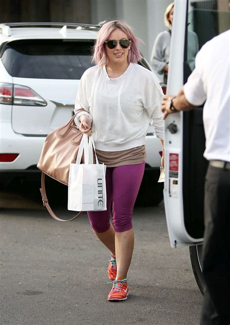 nine zero one salon is on the move west hollywood hilary duff leaving the nine zero one salon in west hollywood