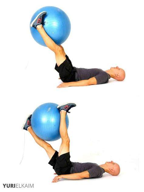 stability ball exercises  core training