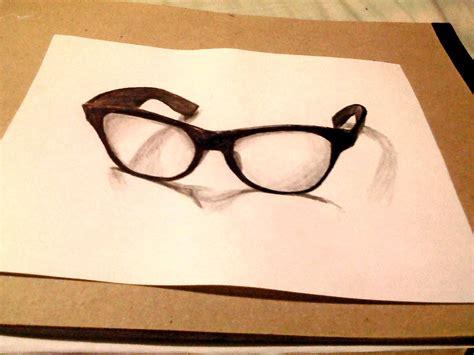 imagenes en 3d para dibujar a lapiz dibujo 3d el secreto para dibujar gafas 3d dibujemos