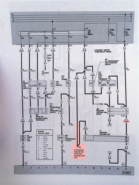 wiring diagram for electric radiator fan the wiring