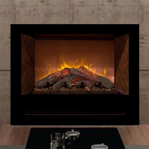 36 home custom electric fireplace modern flames