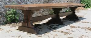mittelalter tisch handmade style trestle table 14 seater oak