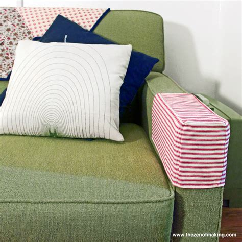 Armchair Covers Design Ideas Tutorial Simple Fabric Armrest Covers The Zen Of