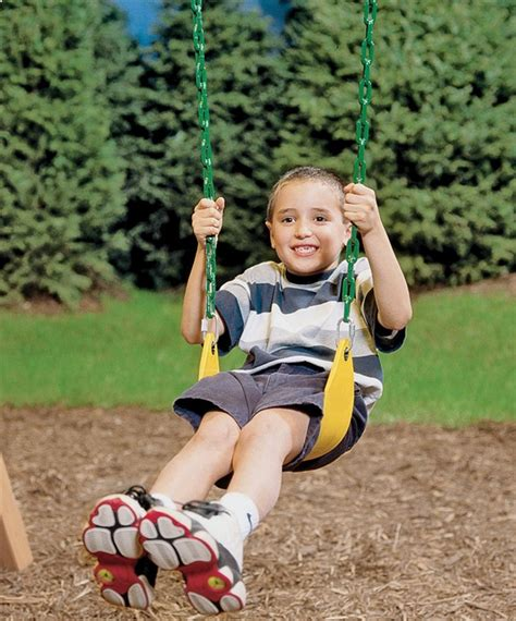 playstar commercial grade toddler swing playstar ps 7948 swing seat 1 molded seat 120 lb 2 10