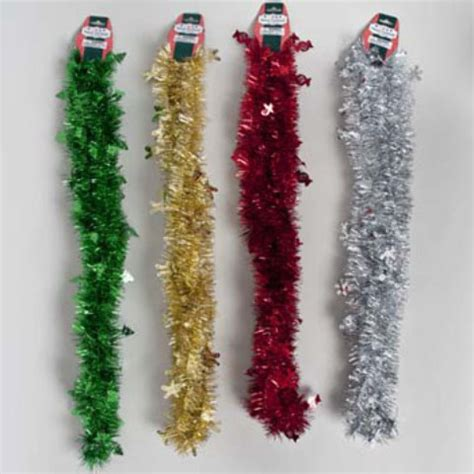 wholesale christmas garland tinsel 9 ft sku 2124498