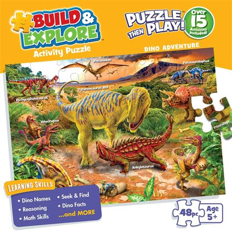 Adventure And Explore dino adventure build and explore jigsaw puzzle