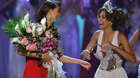 Miss Usa Falls Fails At by Classic Miss Universe Fails Dailytelegraph Au