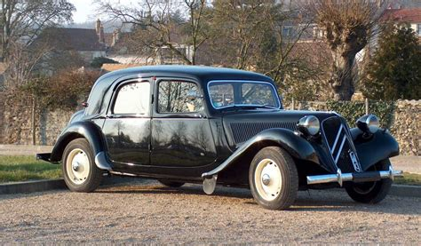 Citroen Traction Avant by Citroen Traction Avant Impact The World
