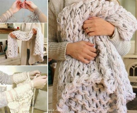 arm knit a blanket how to arm knit a blanket pictures photos and images for