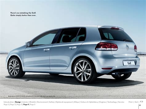 golf volkswagen 2010 2010 volkswagen golf vw catalog