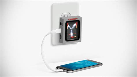 flux capacitor usb wall charger flux capacitor for home charges your devices but won t let you time travel mikeshouts