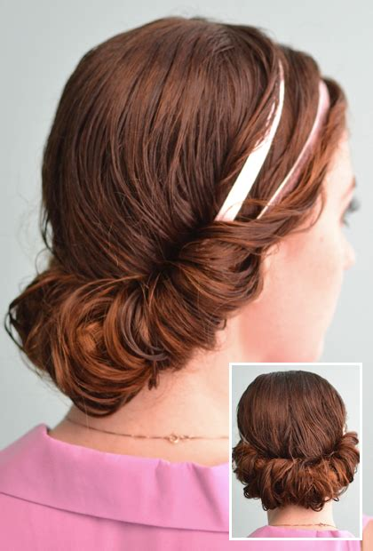 headband tuck hairstyle headband tuck 4 prettiest ways to style wet hair page 4