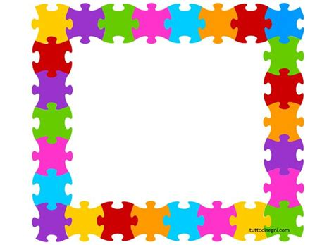 printable frames for children s work cornicetta puzzle bordaduras borders and frames
