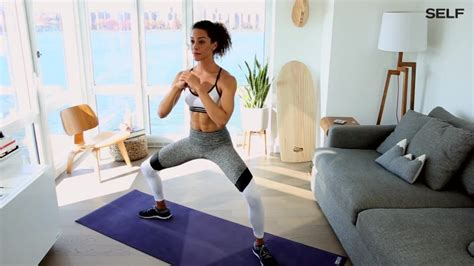 a 6 move no equipment workout you can do at home