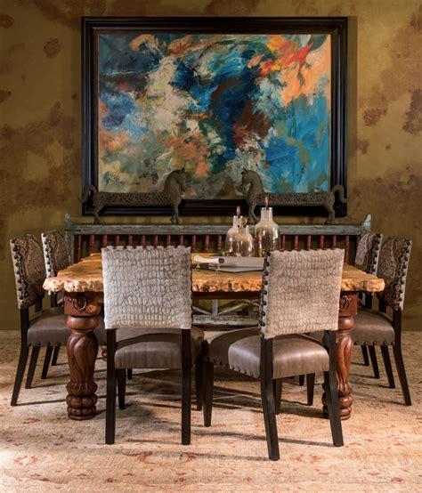 shop the look stunning dining room rustic western