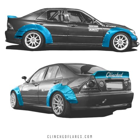 widebody lexus is300 lexus is300 widebody kit fits is200 toyota altezza