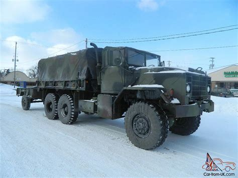 tactical truck 1987 american tank military 5 ton tactical cargo truck