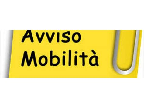 avviso mobilità esterna mobilit 224 scadute