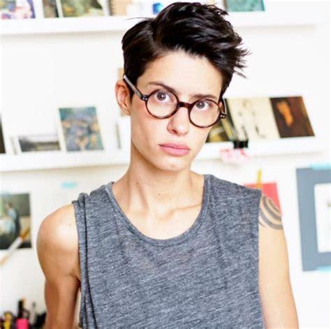 butch pixie haircut 17 beste afbeeldingen over hair androgynous lesbian dyke