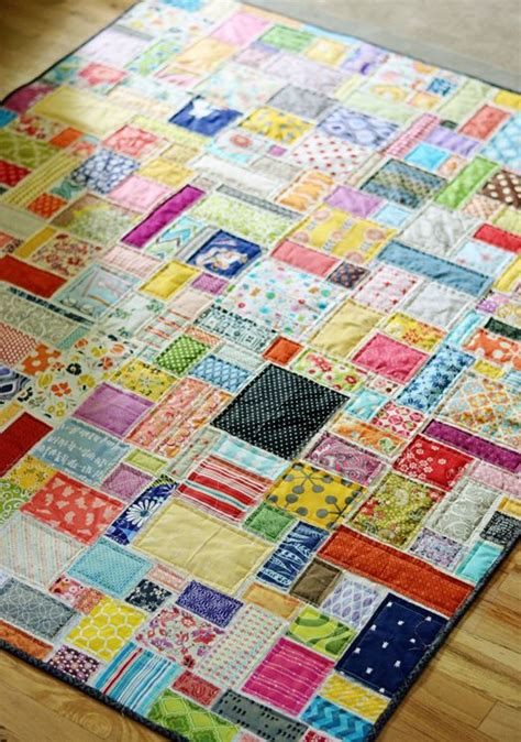 Patchwork Projects For Beginners - best 25 scrap quilt patterns ideas on scrappy