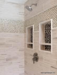 Custom Bathtub Sizes Glazed Grey Marble Shower Niche Accents Pebble Tile Shop