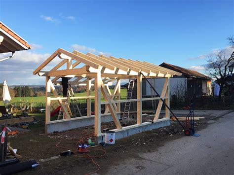 carport aufbauen lassen carport bauen lassen g 252 nstig hochwertig v 246 lk