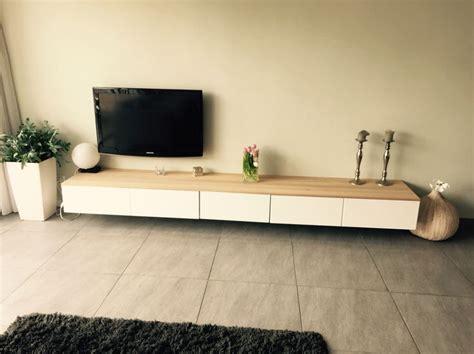 besta zwevend tv meubel zwevend ikea interieur meubilair idee 235 n