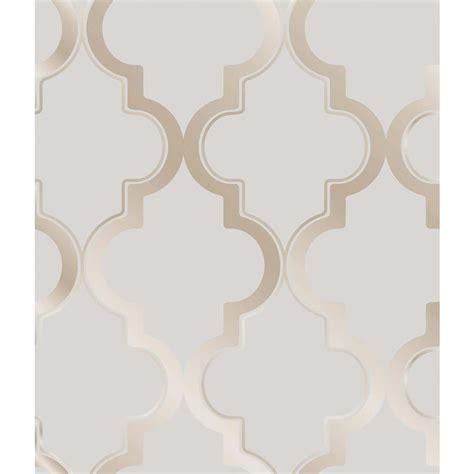 tapete marokkanisch moroccan trellis global bazaar grey beige removable wallpaper