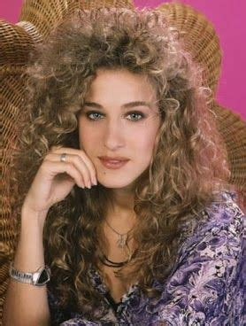 curly layered 80s hairstyles the o jays queen latifah and sarah jessica parker on