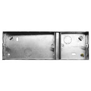 Corridor Kitchen Design Single Double Plate Back Box Metal 35mm Mr Resistor Lighting