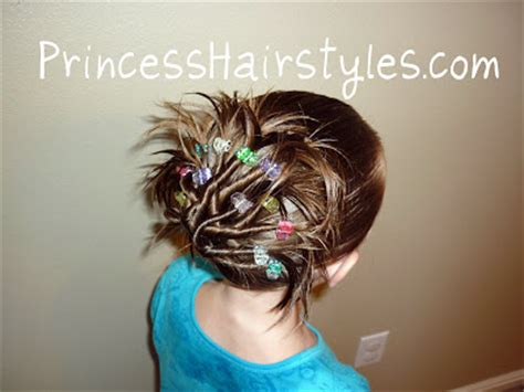 cute trendy updo hairstyles for tweens hairstyles for girls funky twist fan hairstyle