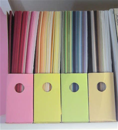 How To Store Craft Paper - 20 scrapbook paper storage ideas the scrap shoppe