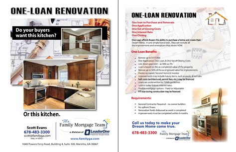 your atlanta renovation loan guide the family mortgage