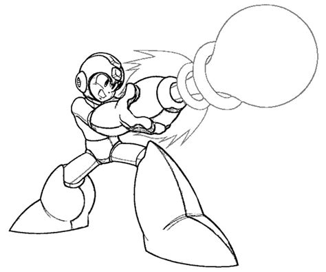 mega man coloring pages coloring home